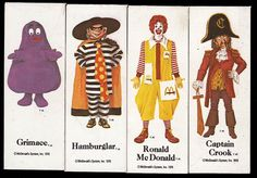 What ever happened to all the characters?! Mayor McCheese, etc...McDonaldland Character Magnets - 1978 by JasonLiebig, via Flickr