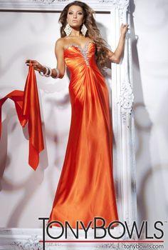 2012 Prom Dresses Tony Bowls Le Gala Slim Prom Dress 112534 at frenchnovelty.com