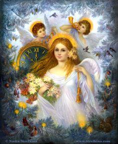 Christmas Angel by Nadia Stelkina