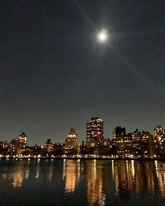 Last full moon of 2019 Cold Moon, Central Park, New York Skyline, Nyc, City, Travel, Viajes, Cities, Destinations