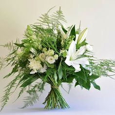 WHITE LILIES - Probably our most popular flower and one of our most requested gift bouquets - well with a name like ours .......