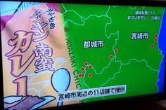 ケンミンショーで宮崎でチキン南蛮カレーがブレイク中と紹介!!