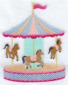 Image result for carousel applique design
