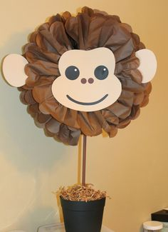 IDEAS. RESERVED FOR CORINNE 5 Monkey Centerpiece by TheShowerPlanner, $89.95