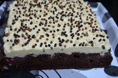 Prajitura cu capsuni, cacao si crema de vanilie | MiremircMiremirc Tiramisu, Cheesecake, Deserts, Ethnic Recipes, Food, Cheesecakes, Essen, Postres, Meals