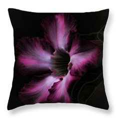 Throw Pillows - Nightly Glow Throw Pillow by Pamela Walton