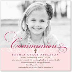 1st communion invites