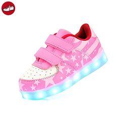 c0 EU 33,[+Kleines Handtuch] Farben emittierende leuchtet USB-Lade koreanischen Schuhe und Frauen neuen Die Schuhe LED-Lampe Leucht sieben Licht Sch