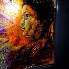 #c251 piece painted on a barber shop window, #BrickLane #graffiti #graff #streetart #instagood #instagram #london #londonpop #Londononly #ig...