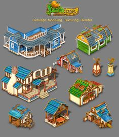 Building for Farmscapes by ~roma-n on deviantART