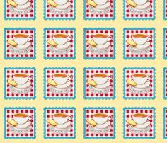 A Cup of Tea and a Biscuit fabric by Patricia Shea on #Spoonflower.