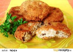 Salmon Burgers, Paleo, Food And Drink, Chicken, Meat, Vegetables, Ethnic Recipes, Kebabs, Petra