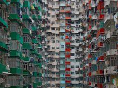 Mind-Blowing Architectural Density in Hong Kong | Bored Panda