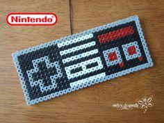 Nintendo Controller perler beads by RockerDragonfly on deviantART