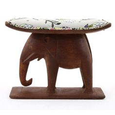 Ardmore Ceramics Batonka Stools: Ashanti Elephant Stool in Protea Fields Kingfisher Fabric Elephant Pictures, Elephant Art, Ceramic Studio, Art 3d, Kingfisher, Elephants, Stools, Fields, Bears