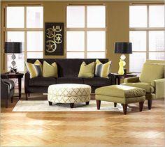 Apartment size sofa group