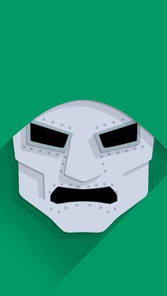 Doom for iPhone Marvel Universe, Luxury Branding, Iphone Wallpaper, Logo Design, Logos, Comics, Artwork, Minimal, Collage