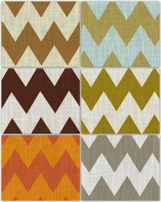 chevron style fabrics
