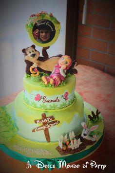 Masha and the Bear - Cake by Il Dolce Mondo di Patty