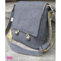 Messenger Bag DIY Projects - The Cottage Market