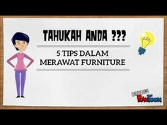 5 Tips Merawat Furniture Furniture Manufacturers, Luxury Furniture, Tips, Youtube, Home Decor, Decoration Home, Advice, Room Decor, Interior Decorating