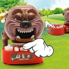 Upgrade the New Funny Toy Dog Bite Finger Family Challenge Game Interactive Kids Novelty Toy