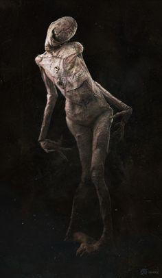 ArtStation - The Conjuring 2: Crooked Man Design, Daniel Edery
