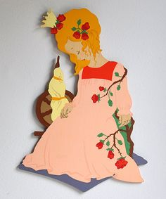 German Sleeping Beauty Plaque by Mertens Kunst by MisterTrue