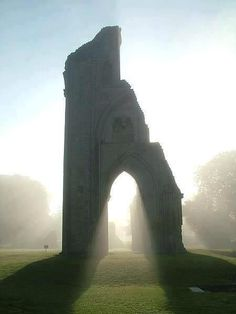 Glastonbury, England - the resting place of King Arthur