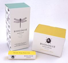 Package design, bugs, drawing, illustration, yellow, turquoise, Biologie, box,