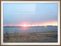 日の出♪。。。 おはようございます、 皆さんに良い一日を♪♪ Salida del sol♪
