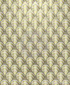 Art Deco Pattern Background by James Nemec, via Dreamstime