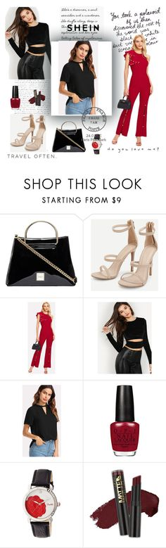 """""""Shein 8"""" by medinicab ❤ liked on Polyvore featuring Bertha, L.A. Girl and WALL"""