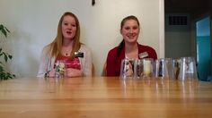 Sister Missionaries Sing About Restoration with Cup Song
