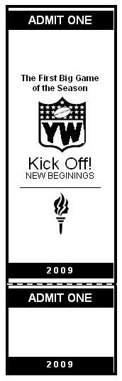 """""""Kick Off!"""" New Beginnings.  football themed evening, have a YW plan it for a project."""