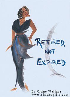 By Cidne Wallace.  www.shadesgifts.com  #blackart