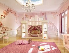 Exceptional Girls Ultimate Princess Theme Room Castle Bed Kids By