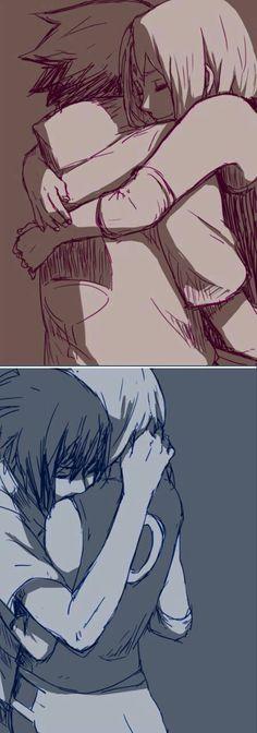 Imagen de sasuke, sasusaku, and naruto