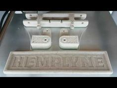 www.hemplyne.com - 3D printing with 100% Biodegradable Hemp Plastic Filament