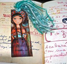 Saint Kateri   Laminated Bookmark  Handmade  by FlorLarios on Etsy, $8.00