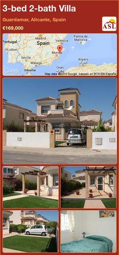3-bed 2-bath Villa in Guardamar, Alicante, Spain ►€169,000 #PropertyForSaleInSpain
