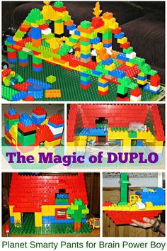Create some magic with DUPLO! 10 reasons DUPLO is worth investing in.
