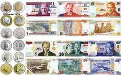 Turkish Lira, the lawful currency of Turkey