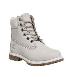 Timberland Premium 6 Boots Winter White Nubuck - Ankle Boots