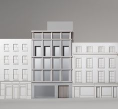 David Chipperfield Architects has won planning for a new Valentino Store in London's Bond Street Transitional Fireplaces, Transitional Chandeliers, Transitional Lighting, Transitional Living Rooms, Transitional House, David Chipperfield Architects, Living Room Turquoise, Space Interiors, Facade Architecture
