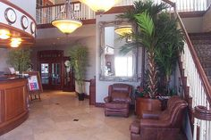 Lobby, Hanger Hotel, Fredricksburg Texas by JimNtexas, via Flickr