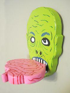 Zombie Shelf Five. $20.00, via Etsy.