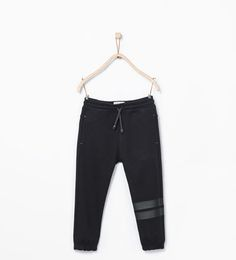 ZARA - KIDS - Plush trousers with drawstring