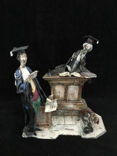 Tezza Moretto porcelain figurine Lo Scricciolo ,size 25x 24 cm | eBay