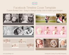 Instant Download Facebook Timeline Cover Template by PopuriDesign